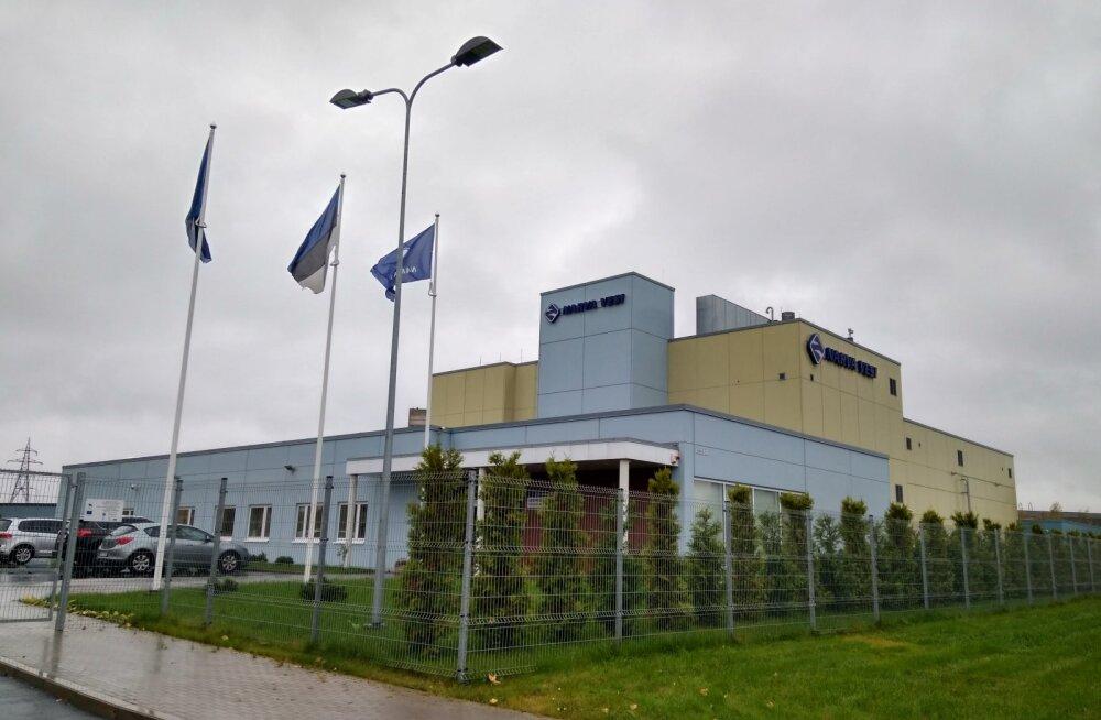 Экскурсии для школьников на предприятие Narva Vesi: реклама баллотирующегося руководителя или воды?