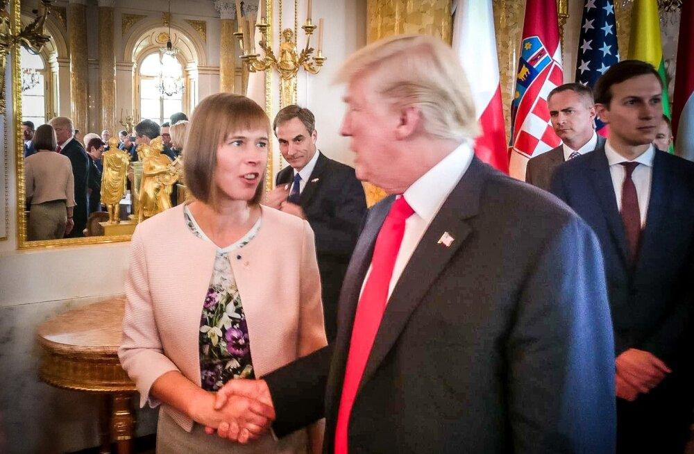 Kersti Kaljulaid kohtus Donald Trumpiga
