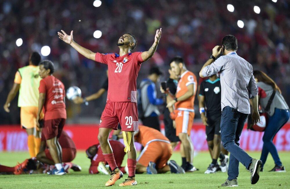 """Panama - Costa Rica otsustav valikmäng peetakse """"kummitusvärava"""" tõttu uuesti?"""
