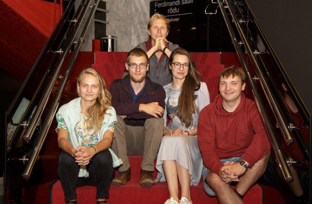 NUKU teatri äsja alanud hooajal liitub trupiga viis inimest
