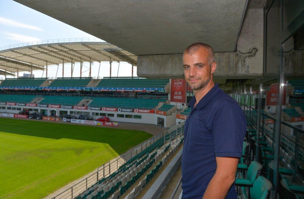 U19 koondise peatreener Lars Hopp