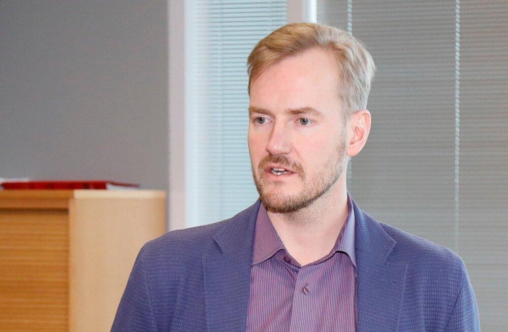 Eesti Raudtee nõukogu juht Priit Rohumaa