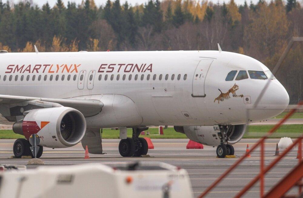 Smartlynx Estonia lennuk