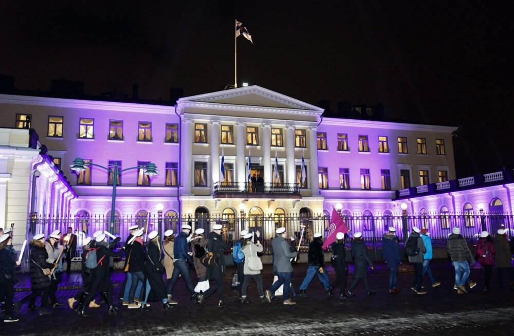 Soome vaadatuim telesaade, presidendi iseseisvuspäeva vastuvõtu ülekanne tegi publikurekordi