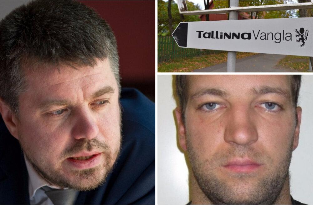 Justiitsminister Reinsalu andis vanglateenistusele korralduse kontrollida, kas sarivägistaja ohtlikkuse hindamise metoodika on ikka pädev