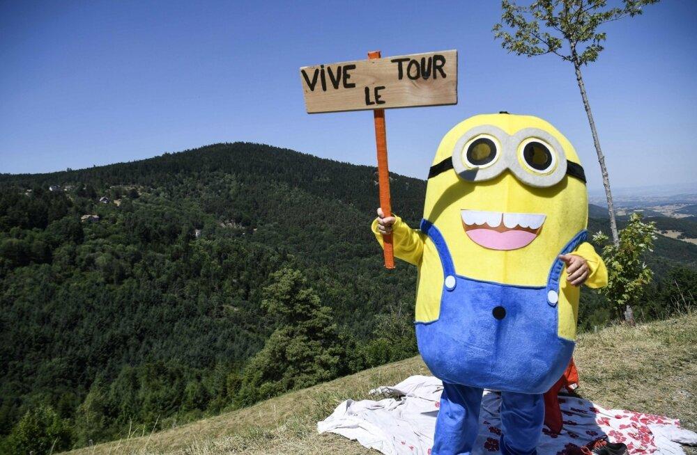 Kes kõik Tour de France´ile kaasa elavad!