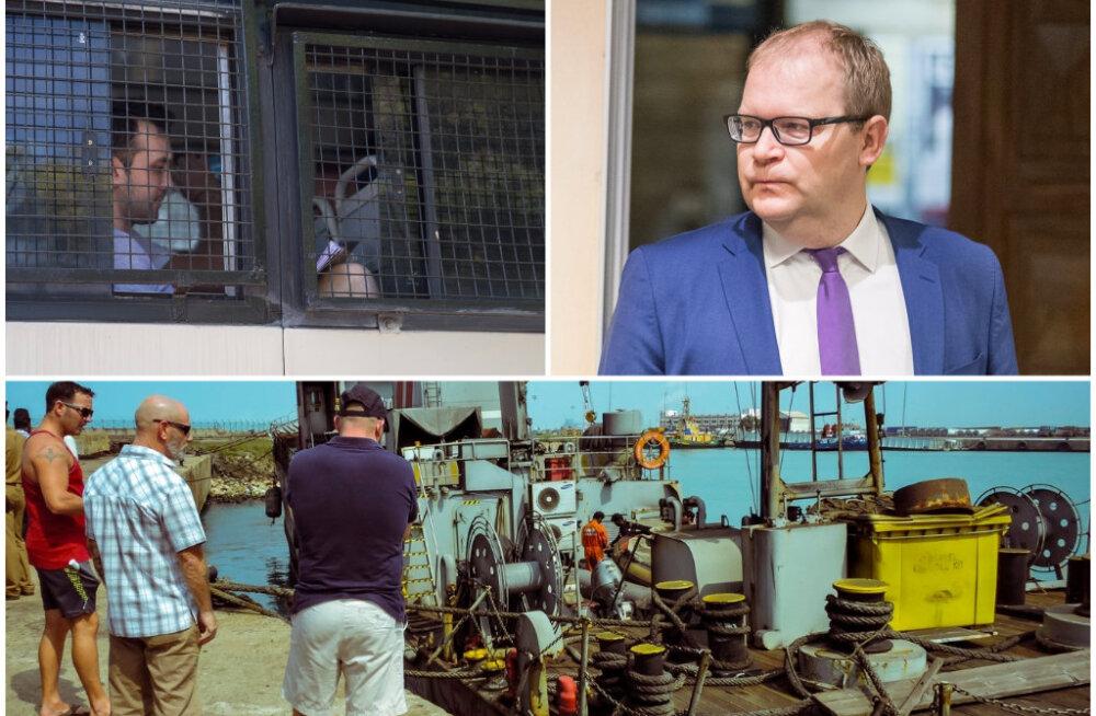 Urmas Paet: lõplikult saab kergendust ja rõõmu tunda alles siis, kui laevakaitsjad on päriselt Eestis tagasi