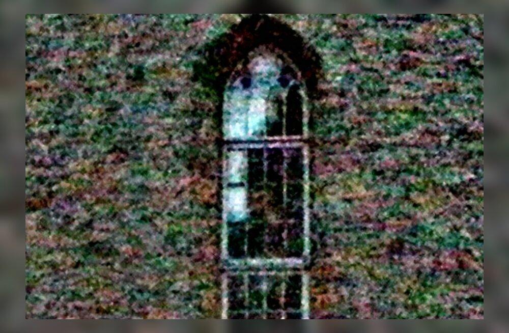 """ФОТО читателя Delfi: Привидение """"Белой дамы"""" в замке Хаапсалу показало свое лицо"""