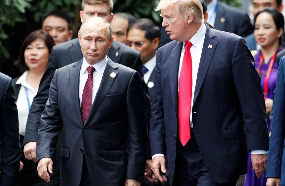 Путин и Трамп опубликовали совместное заявление по итогам встречи