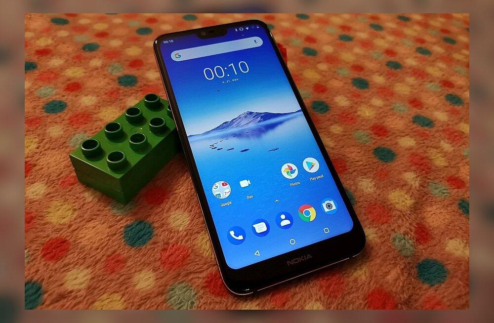 TEST   Nokia nutitelefon 7.1 – palju pole rääkida, kuid ühest asjast kindlasti