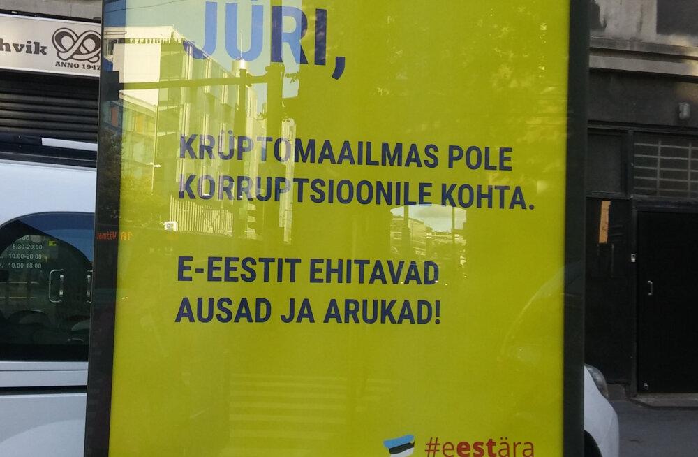 FOTOD | Selgus majas. Kes on Tallinna katvate välireklaamide taga?