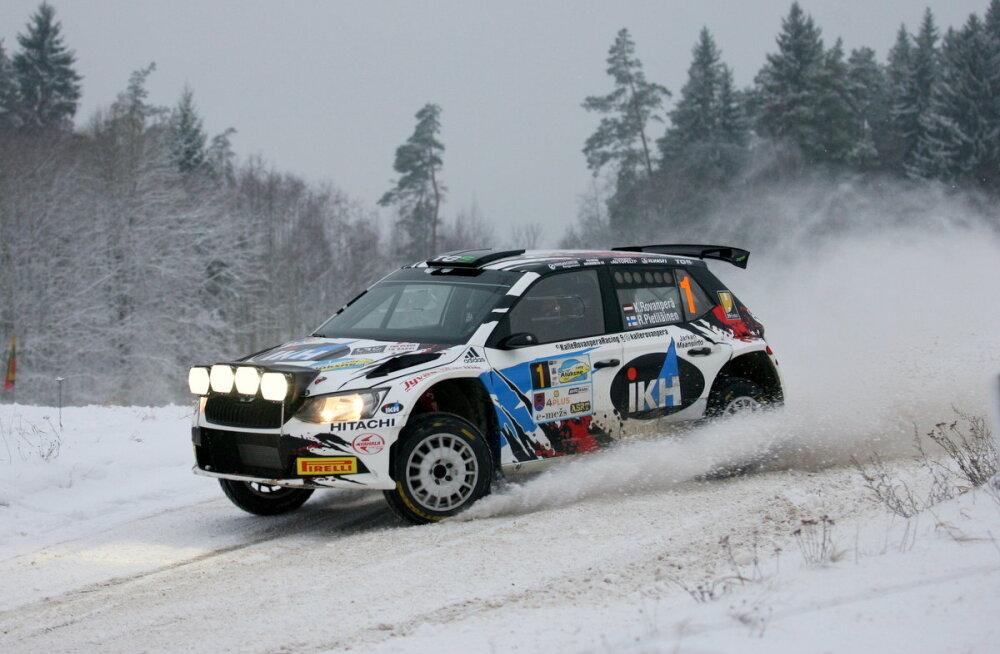 Lõuna-Eesti rallil stardivad Kalle Rovanperä ja Oliver Solberg