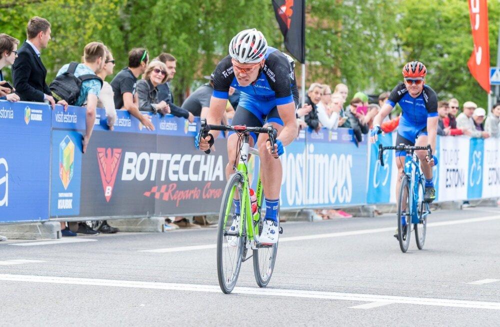 Norman Vahtra võistlemas Tour of Estonial