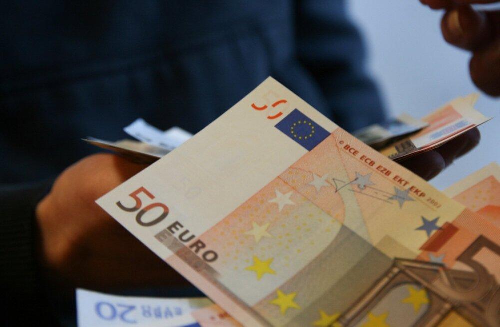Haruldase 50-eurose rahatähe eest võib oksjonil kordades suurema summa rahakotti panna