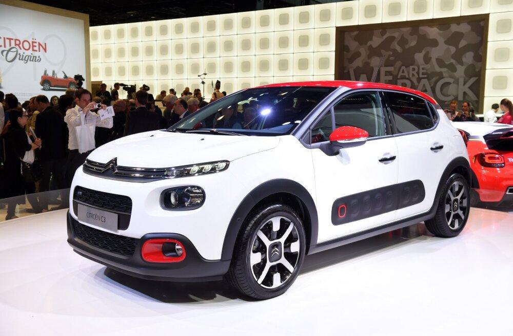 Citroën C3 – pisut vähem kui neli meetrit hea tuju autot
