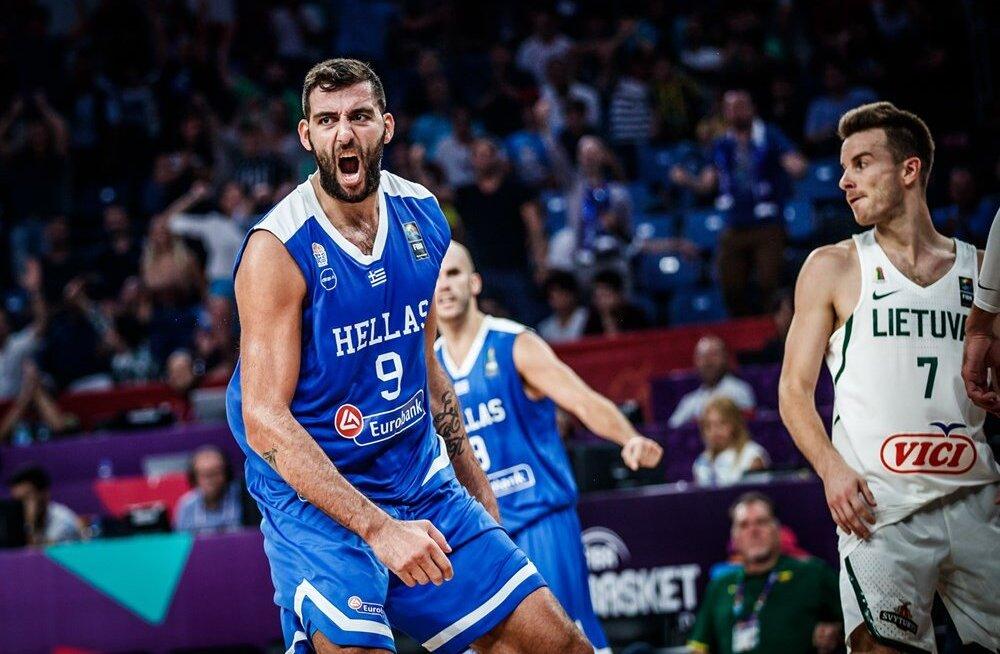 Iluvõimlejaks pärast korvpallikarjääri lõppu? Kreeka koondislane näitas trennis tantsuoskusi