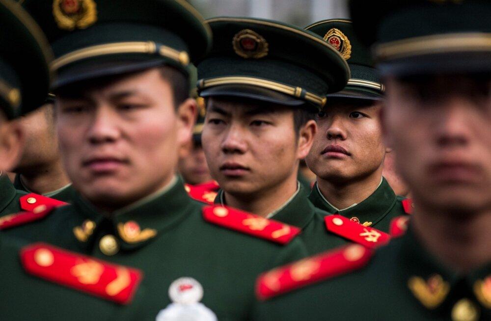 Hiina president Xi sõjaväelastele: ärge kartke surma