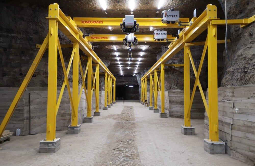 """Eesti Energia проводит ремонт техники под землей на шахте """"Эстония"""" для увеличения конкурентоспособности крупной энергетики"""