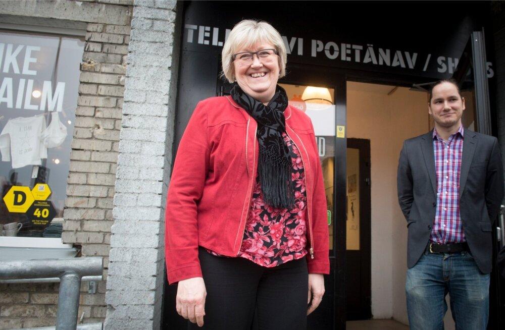 Norra EL-i asjade minister Elisabeth Aspaker ja Siim Tuisk EMSL-ist kohtusid Tallinnas Telliskivi loomelinnakus, et arutada võimalusi tugevdada Eesti MTÜ-sid.