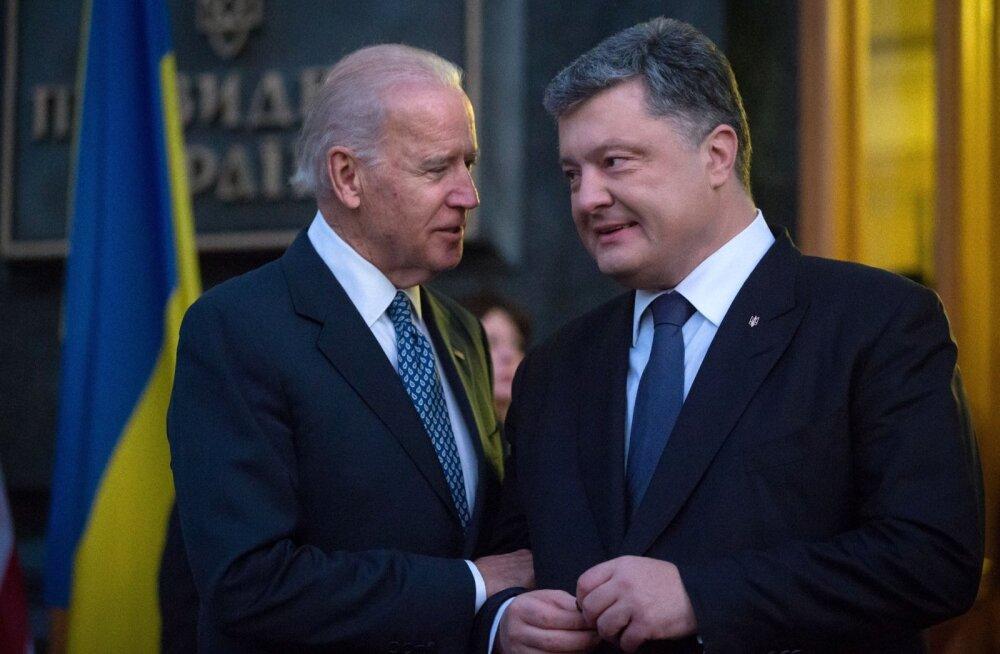 USA asepresident hoiatab Ukrainat: kui te reforme ei tee, loobub EL sanktsioonidest