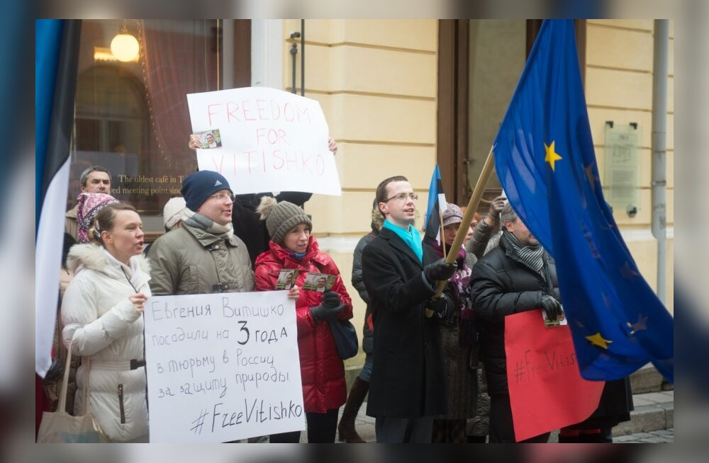 Meeleavaldus poliitvang Jevgeni Vitiško vabastamiseks