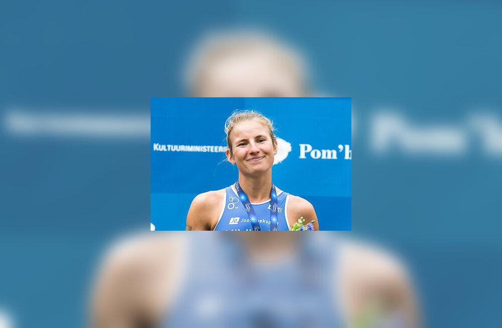 Kaidi Kivioja saavutas triatloni EM-i olümpiadistantsil kaheksanda koha