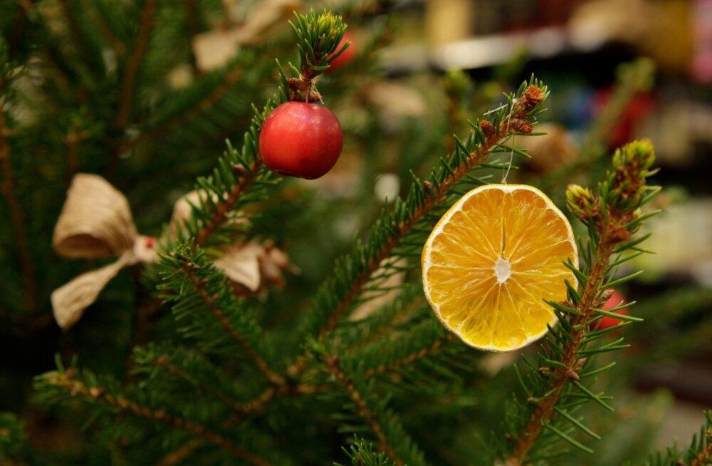 Ehitud jõulupuud
