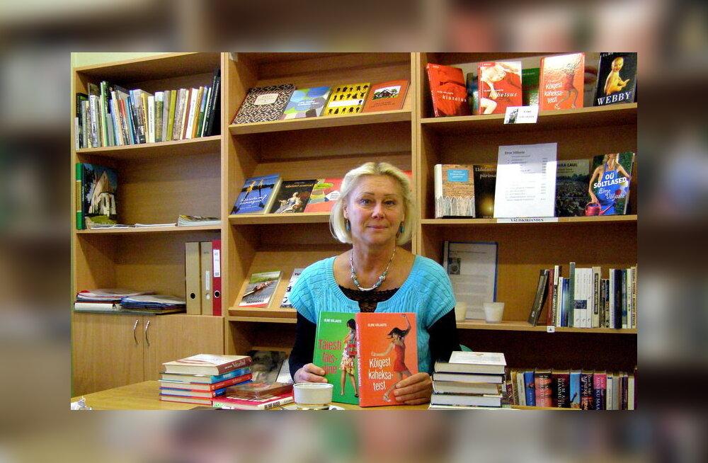 Laukna raamatukogus kohtus lugejatega Elme Väljaste. Foto: Edith Alasi
