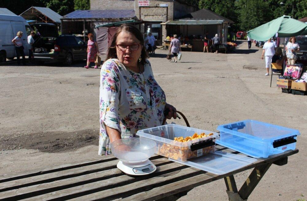 Kukeseened, Narva Energia turg