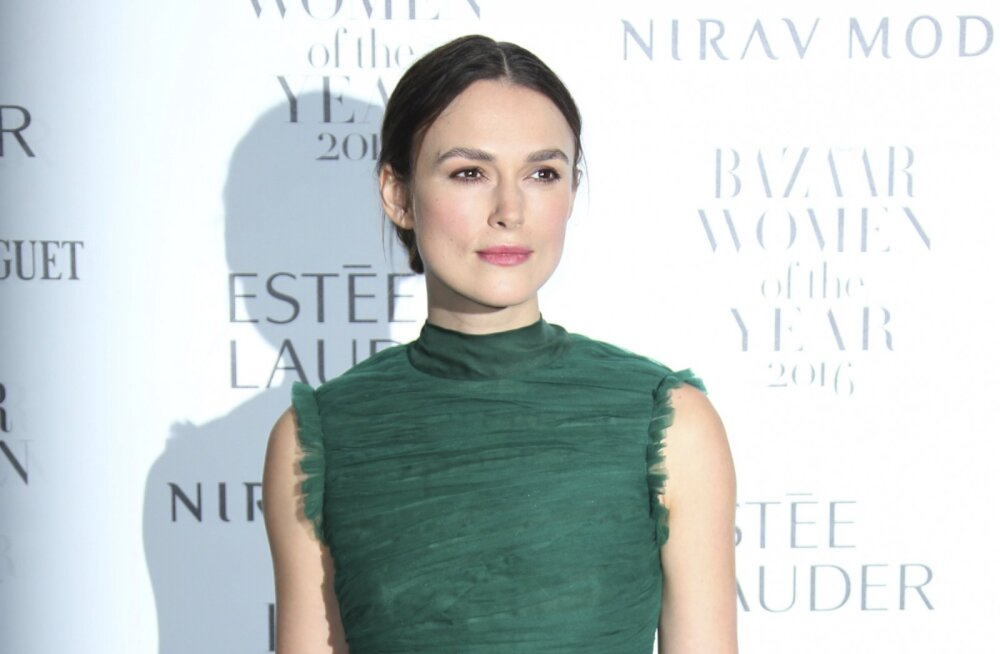 Näitlejanna Keira Knightley avaldab karmi tõe: peaaegu alati langevad naiskarakterid filmides vägistamise ohvriks
