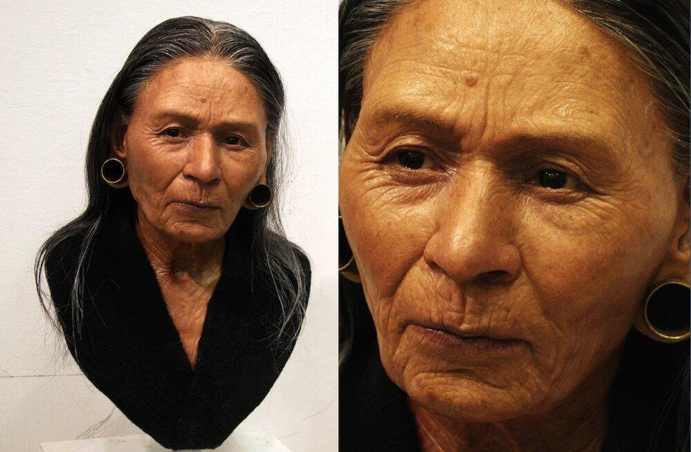 Teadlased taastasid 1200 aastat tagasi Peruus elanud jõuka valitsejanna näo