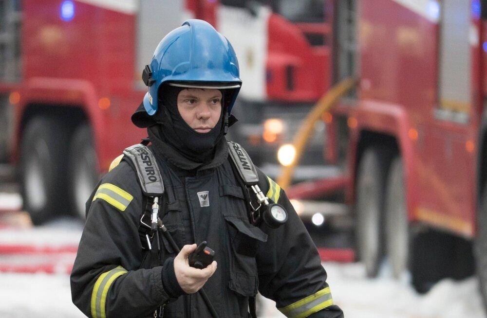 Tulekahju Valukoja tänaval