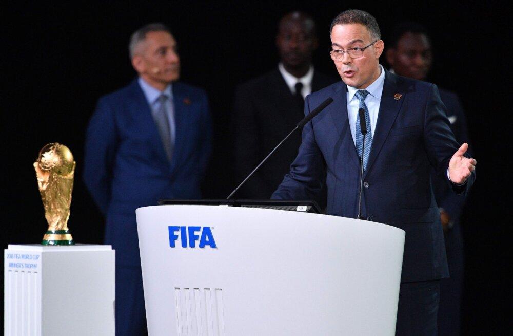 Eesti jalgpalliliit hääletas MM-i korraldajamaa valimisel lüüa saanud Maroko poolt