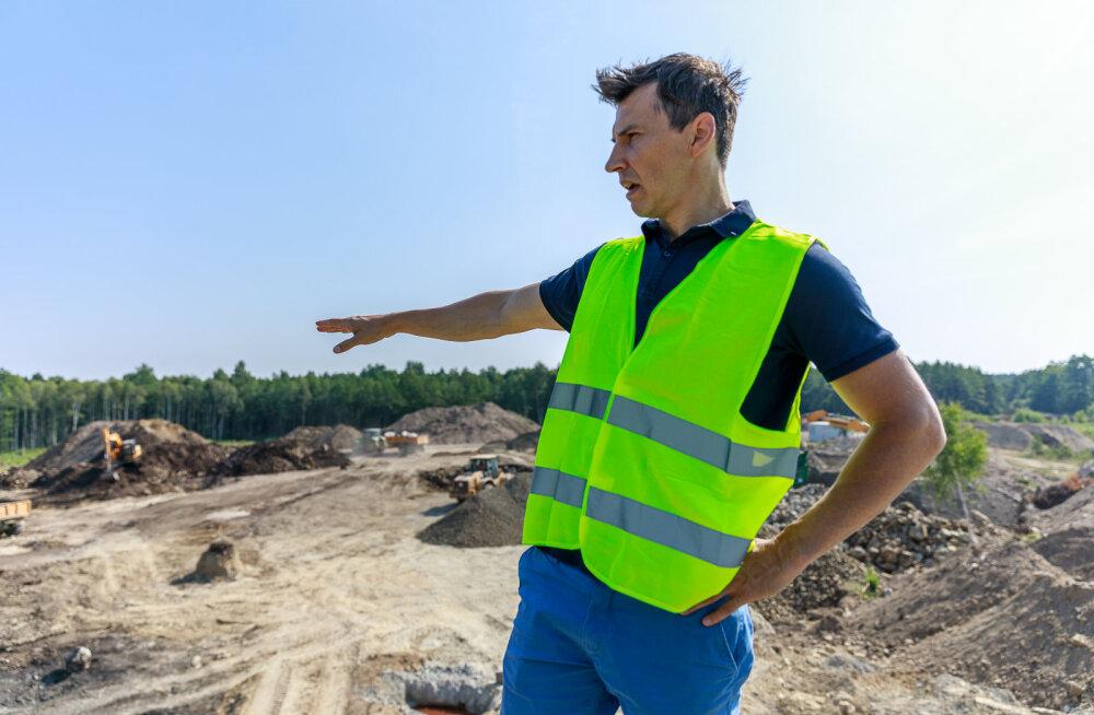 MEIE MAA | Vana asfalditehase pinnas kaevatakse välja