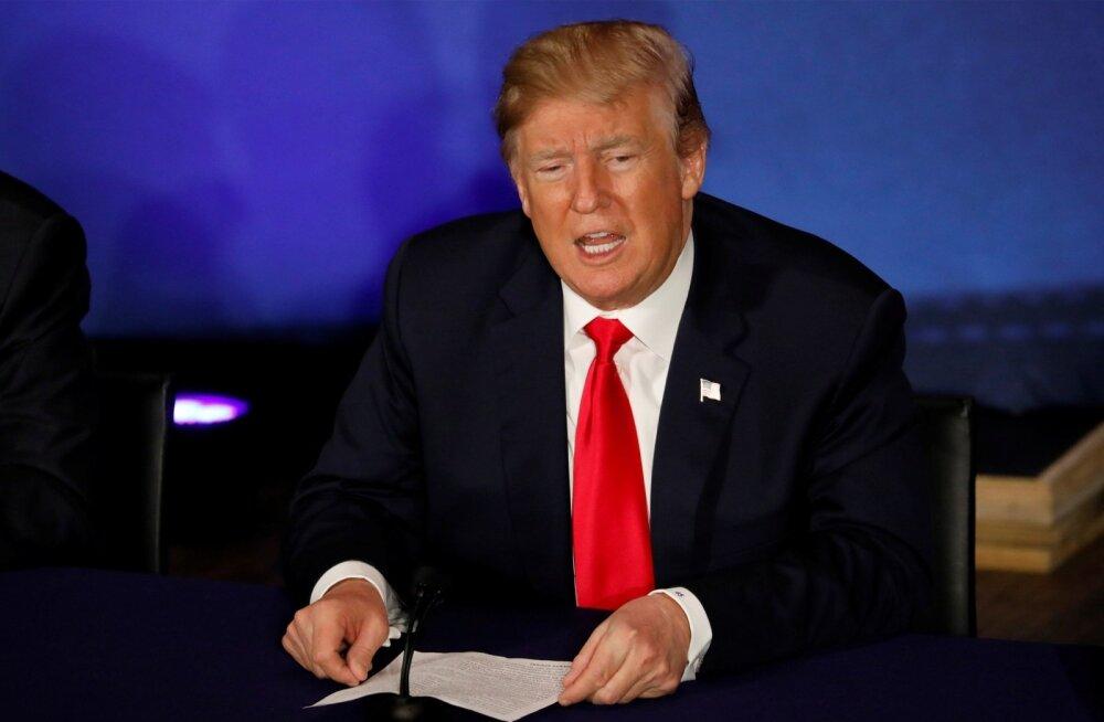 USA president Donald Trump kohtub 22. mail Valges Majas Lõuna-Korea presidendi Moon Jae-iniga.