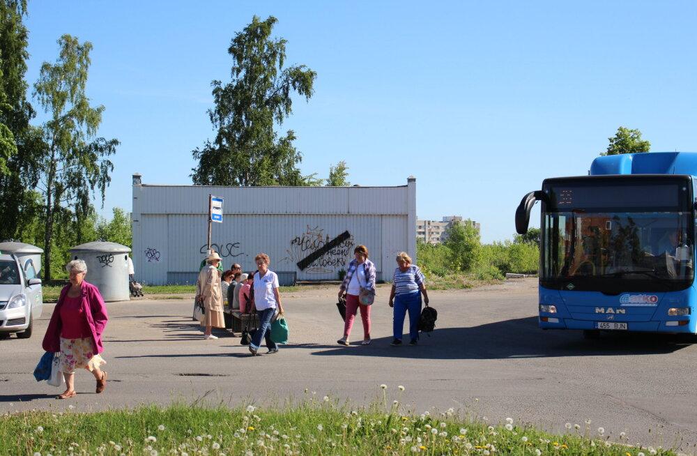 С бесплатным уездным транспортом в Ида-Вирумаа не все ясно: окончательное решение еще предстоит принять