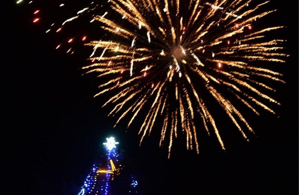 На новогодние фейерверки в Нарве потратят больше, чем в прошлом году