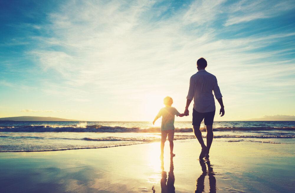 Isata kasvanud lapse valu: kohtumine isaga iseendas