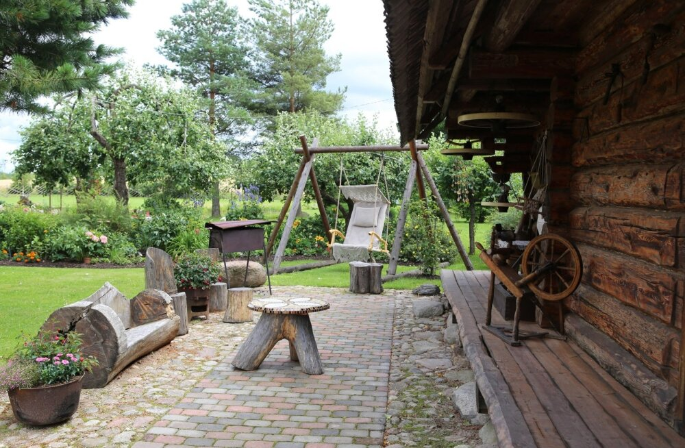 Zipa talu, ripptool, Kanssaare, Maakodu kauneima kodu konkurss 2015