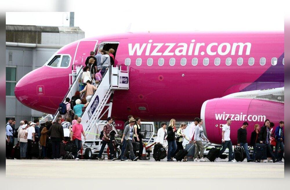 """Авиакомпания WizzAir ввела услугу """"Изменяемый попутчик"""""""