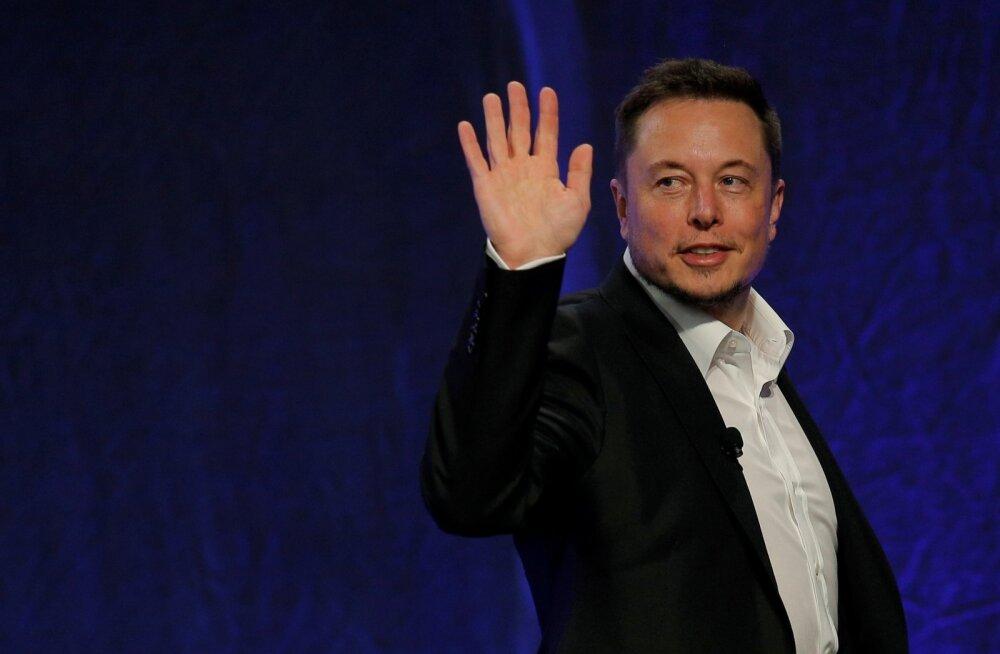 Tesla juhatuse esimees Elon Musk.