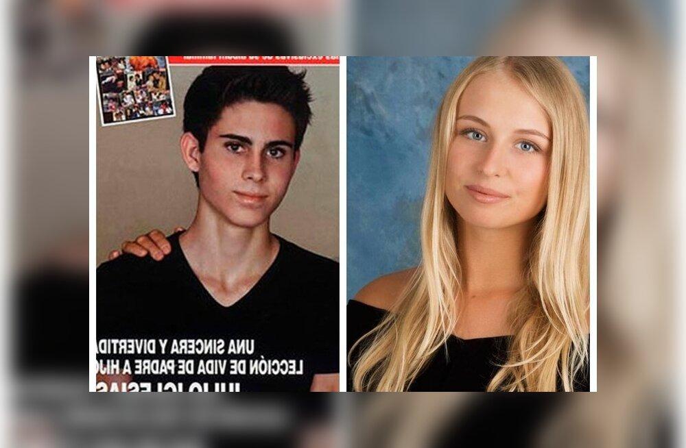 Младший брат Энрике Иглесиаса встречается с копией Анны Курниковой