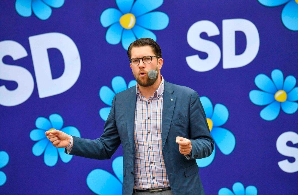 Rootsi julgeolekupolitsei hakkas uurima paremäärmuslike Rootsi Demokraatide juhi Åkessoni ja tema poja tapmisähvardust
