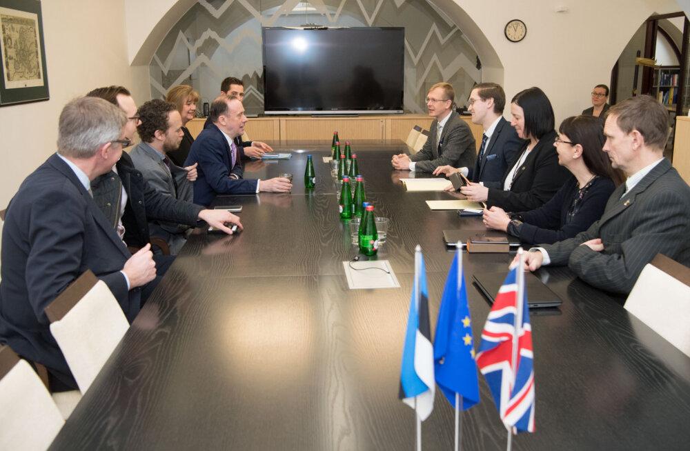 Комиссия Рийгикогу на встрече с лордом Мартином Каллананом обсудила выход Великобритании из ЕС