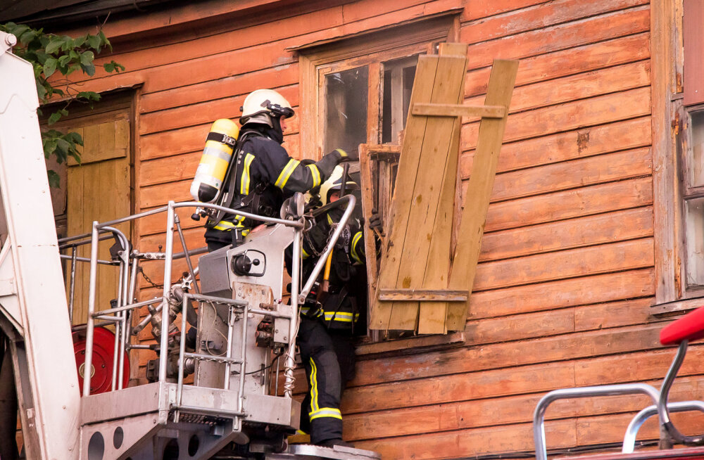 Majad põlevad! Kas tahtlikult või suurest hoolimatusest?