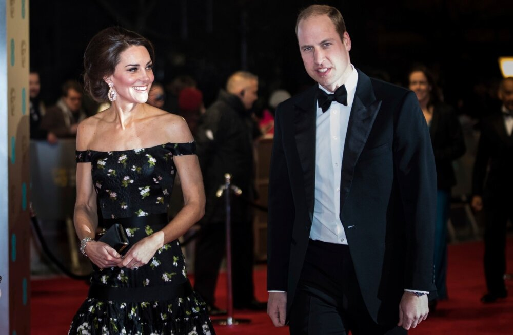 Kate ja William BAFTA auhindadel 2017