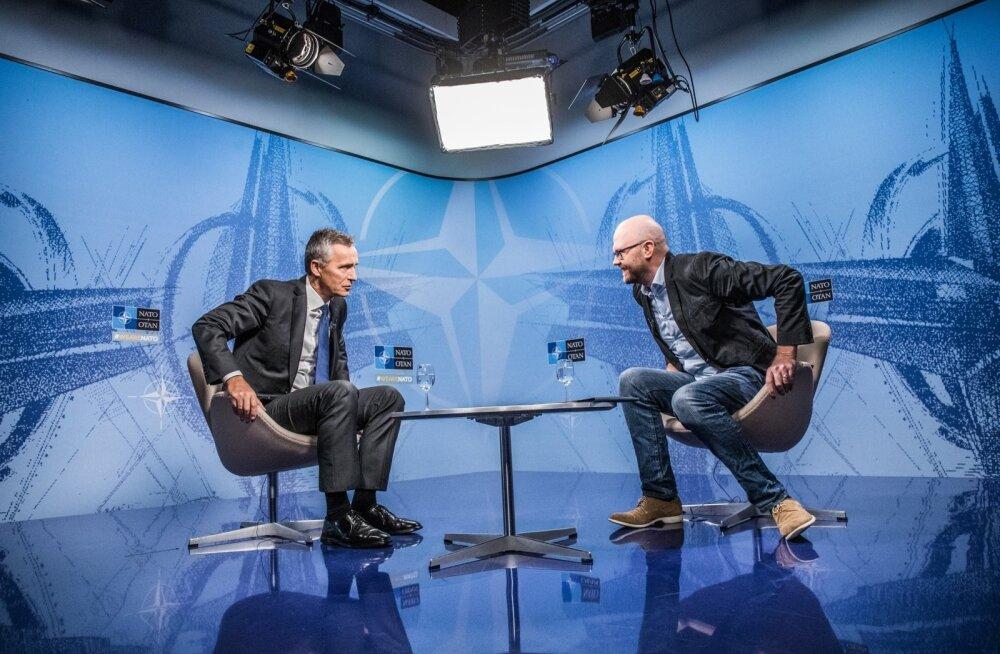 Jens Stoltenberg kinnitas Eesti Päevalehe vanemtoimetajale Lauri Tanklerile Brüsselis NATO peakorteris, et Eesti on kaitstud ja allianss on valmis kiiresti reageerima kõikidele muutustele, mis julgeolekuolukorda mõjutavad.