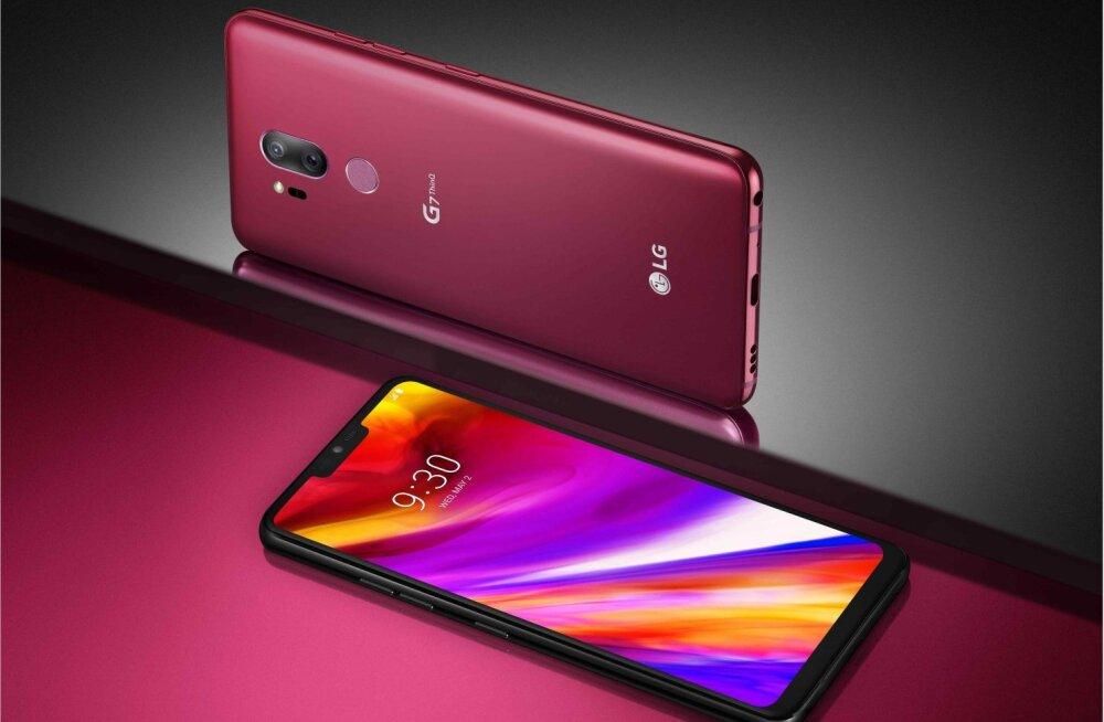 LG uus tipptelefon seab esikohale tehisintellekti
