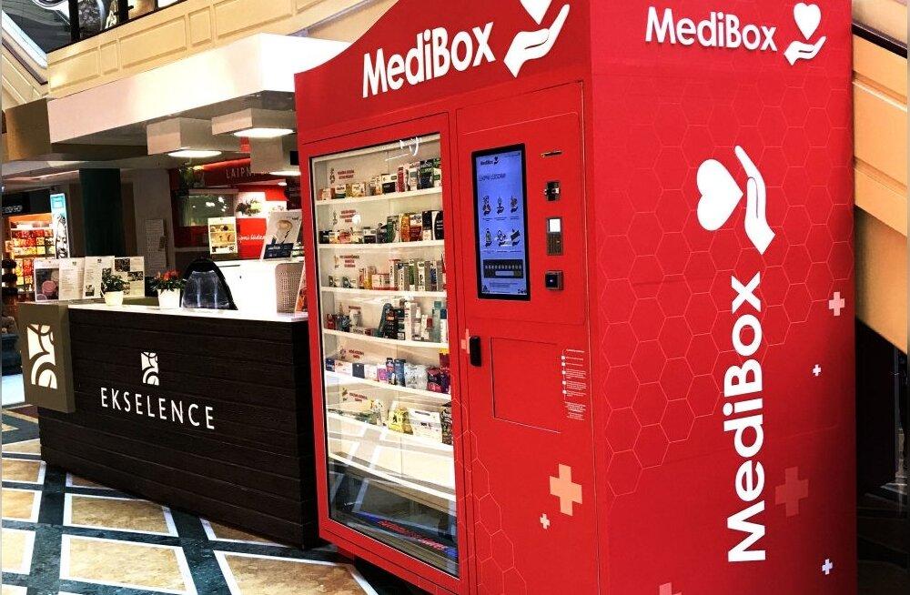 В Риге открыт первый аптечный автомат в странах Балтии