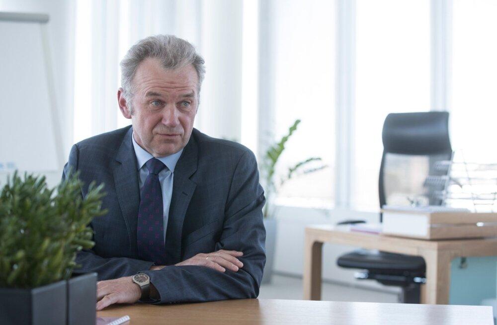 UUES AMETIS: Erik Laidvee juhib sellest nädalast Eesti Raudteed.